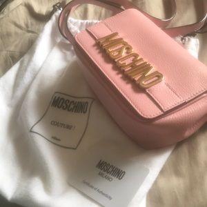 pink Moschino Bag. original price $800